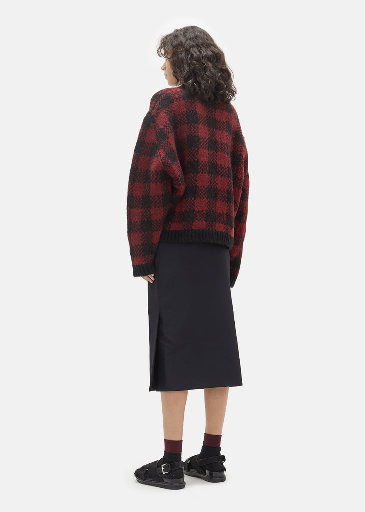 Jacquard Check Sweater