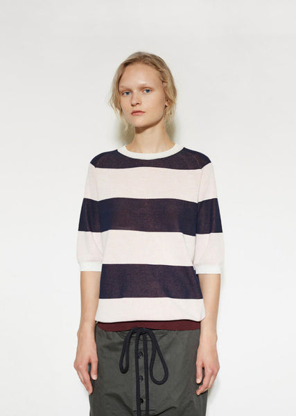 Stripe Sweater Tee