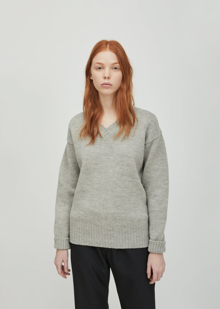 British Merino Oversized Sweater