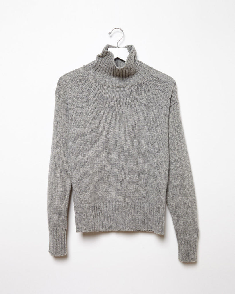 Soft Wool Roll Neck