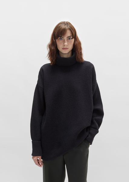 Gauge 7 Long Sleeve Turtleneck Sweater
