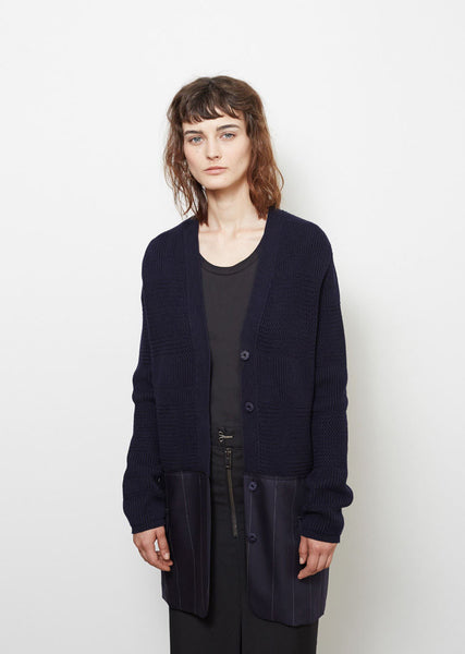 Maison Margiela Mixed Stitch Cardigan La Garconne