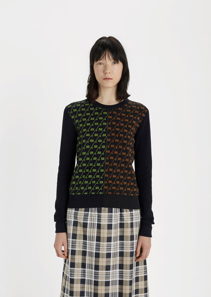 Clash Jacquard Sweater