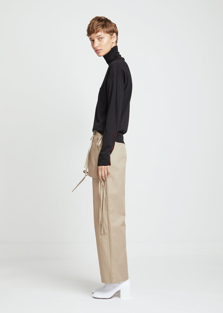 Pants with Removable Pocket