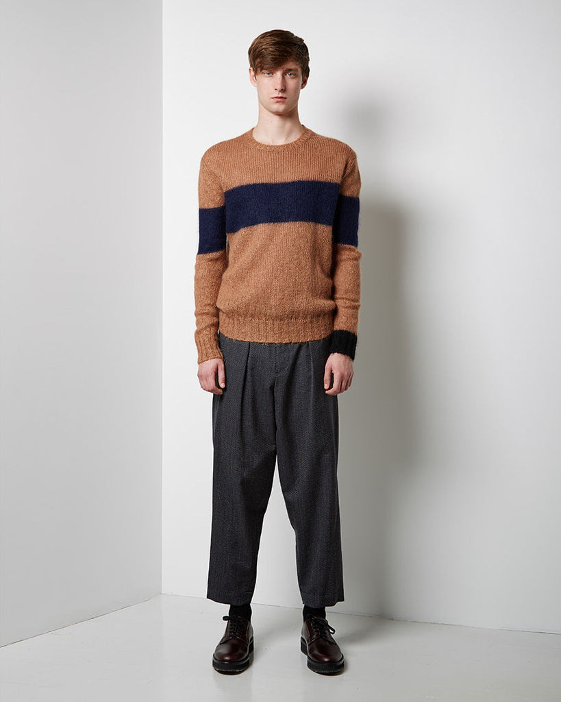Crew Neck Mohair Knit