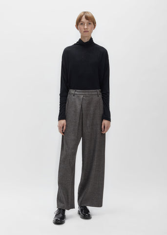 Wool Tweed Pant