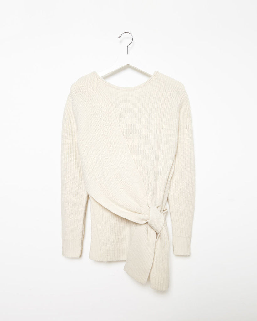 Side Knot Sweater