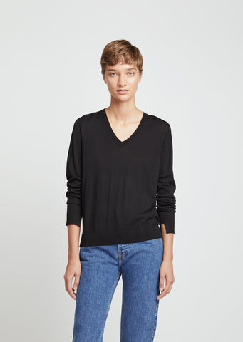 Merino Wool Essential V-Neck Sweater