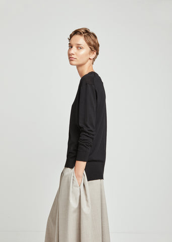 Merino Wool Essential Roundneck Sweater