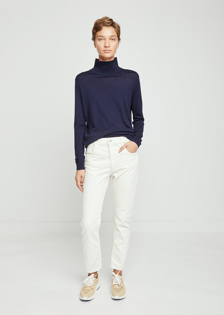 Merino Wool Essential Roll Neck Sweater
