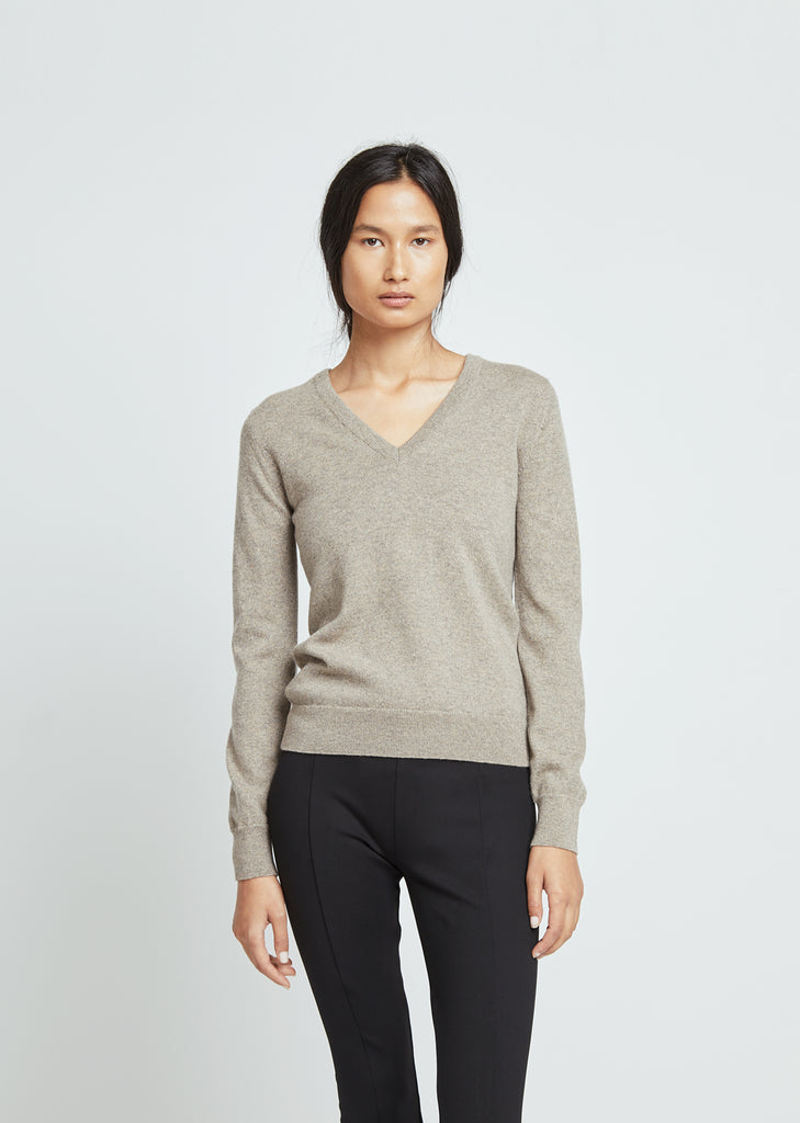 Scottish Cashmere V-Neck Sweater