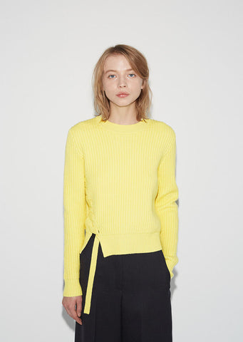 Side Lacing Pullover