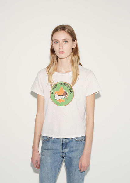RE/DONE Originals Topanga Camp Tee La Garconne