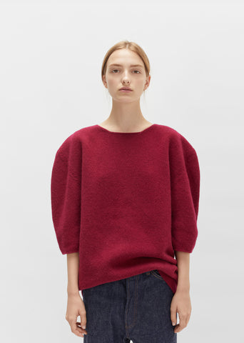 Superfine Felted Wool Sweater