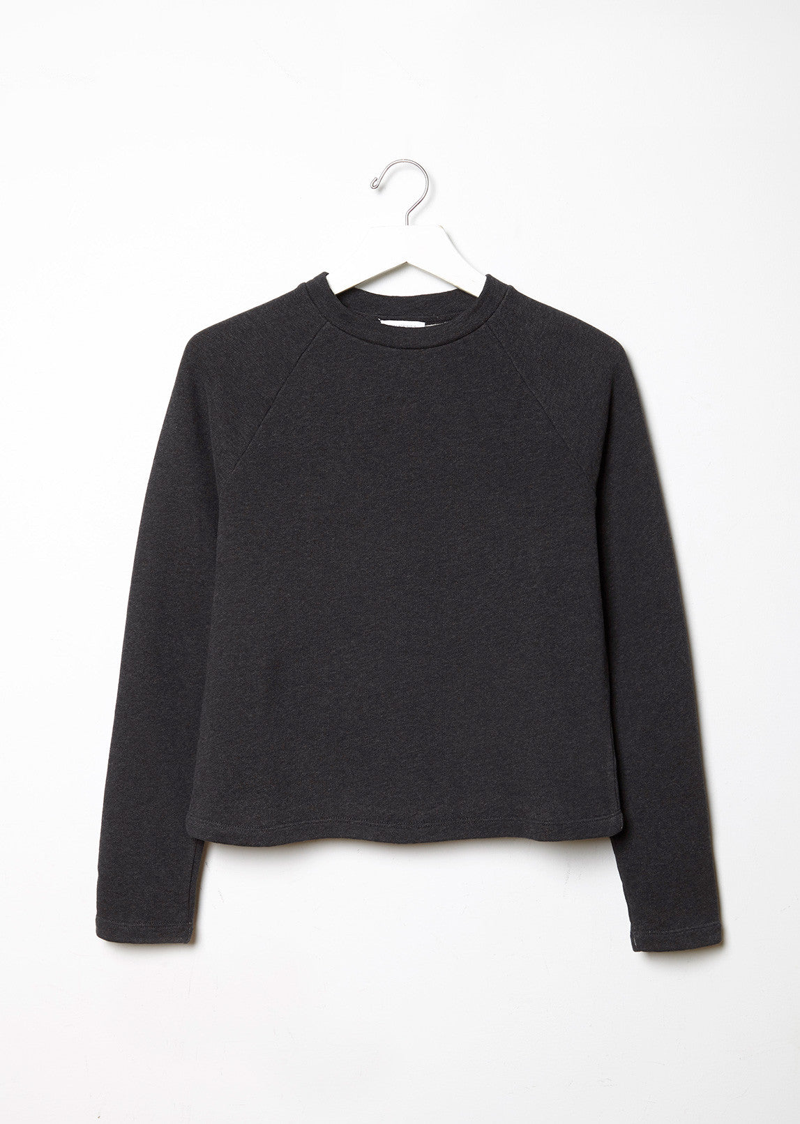 Loopback Cropped Sweatshirt