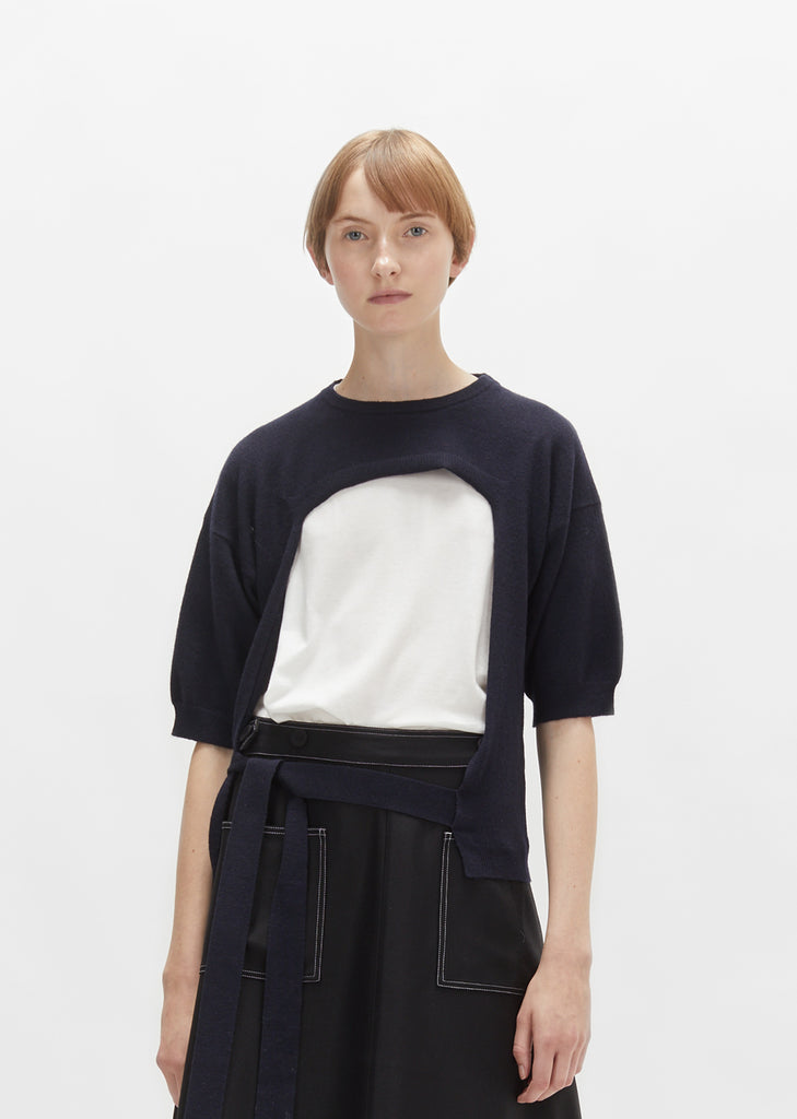 Wool Cashmere Sweater Shell