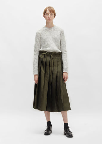Double Pleated Skirt