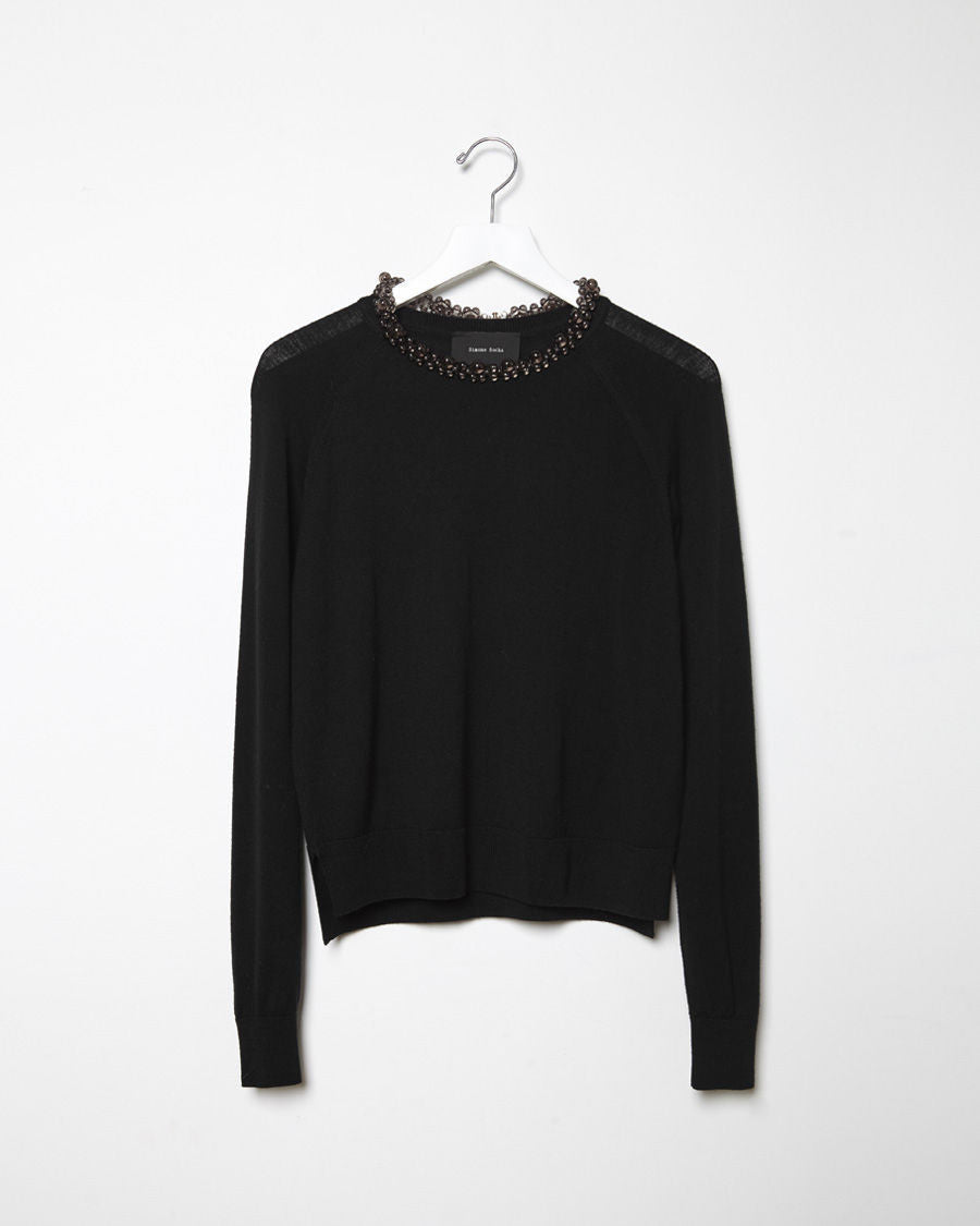 Bauble Neck Pullover