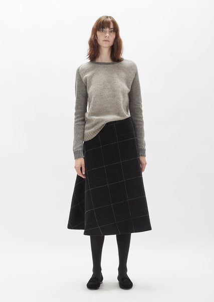 Instrument Wool Skirt