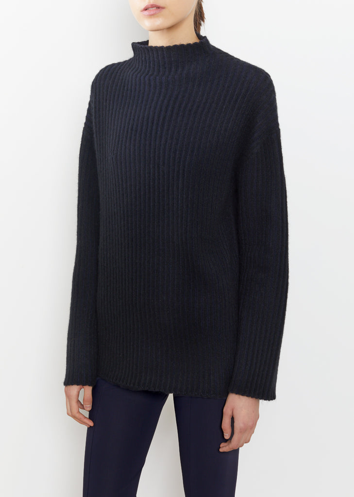 Minah Brushed Stretch Cashmere Turtleneck