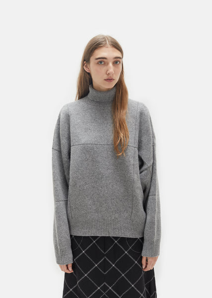 Concrete Turtleneck Sweater