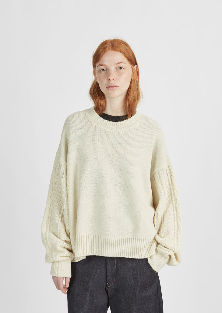 Oversize Knit Pullover