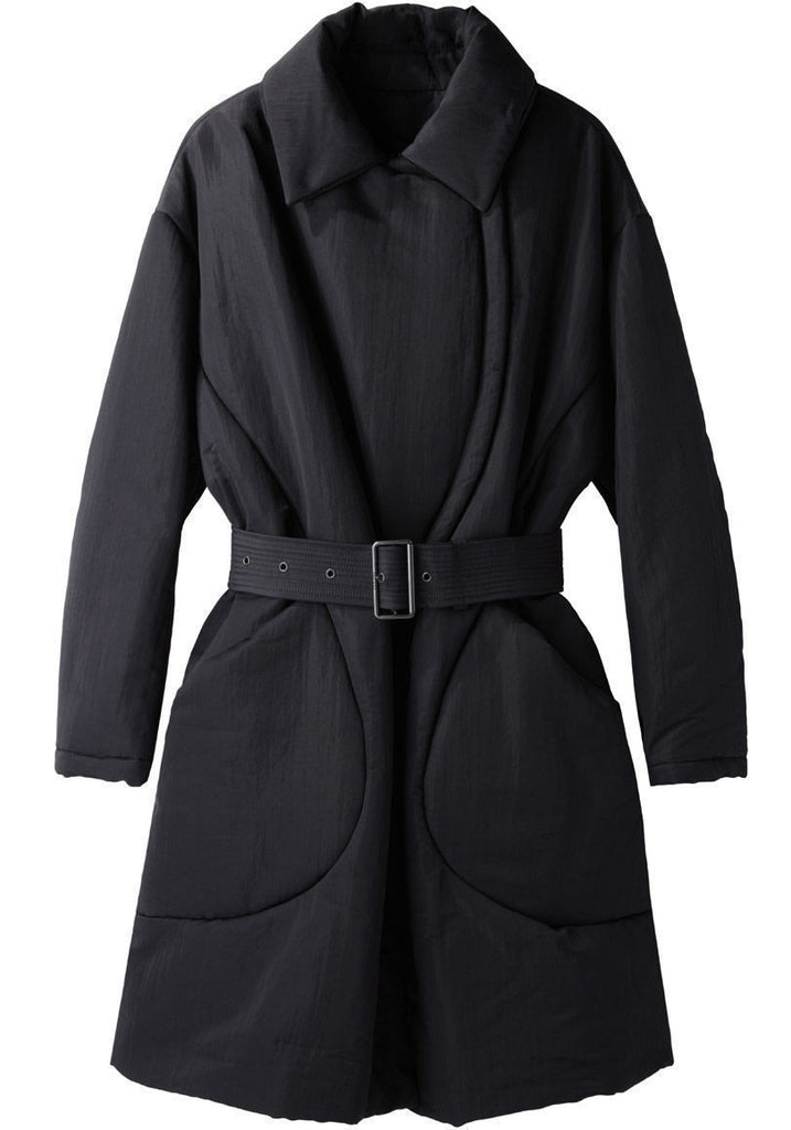Eye Lined Long Coat