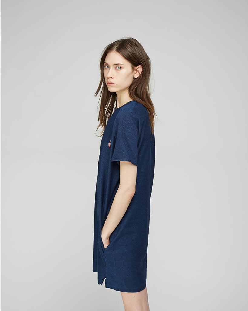 Jersey Denim Dress