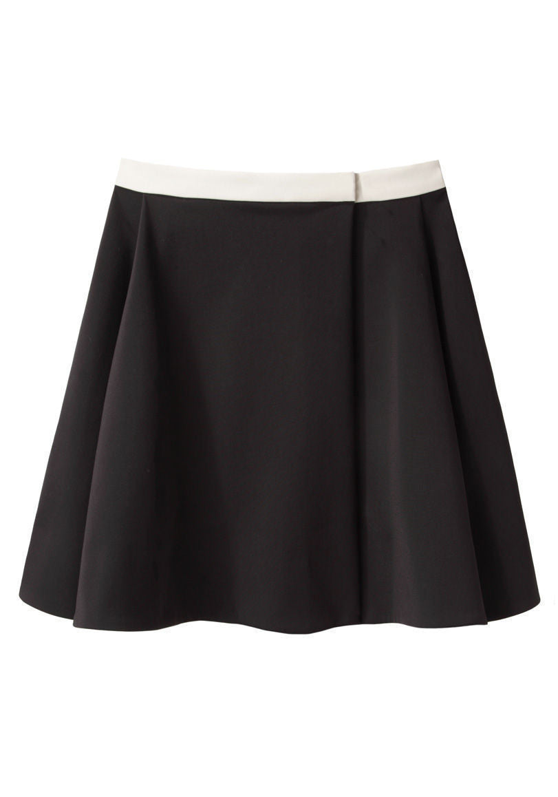 Stretch Canvas Skirt