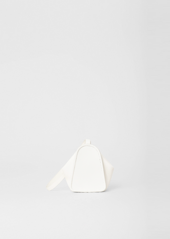 Folded Coin Purse — White