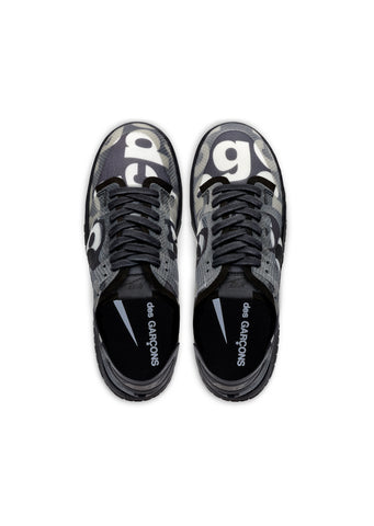 CDG x Nike Logo Transparent Dunk Sneakers