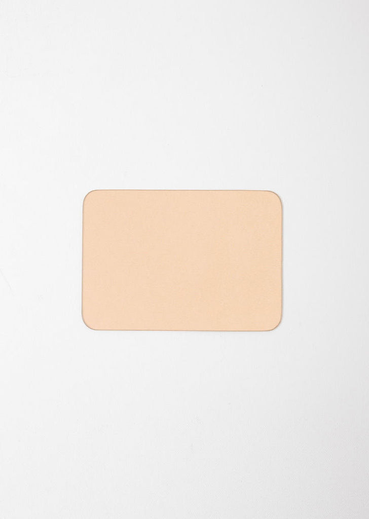 A5 Leather Mouse Pad