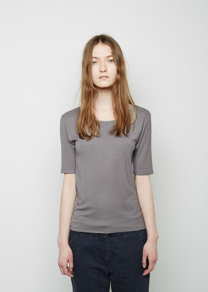 Moderne The New Didion Rib Tee La Garconne