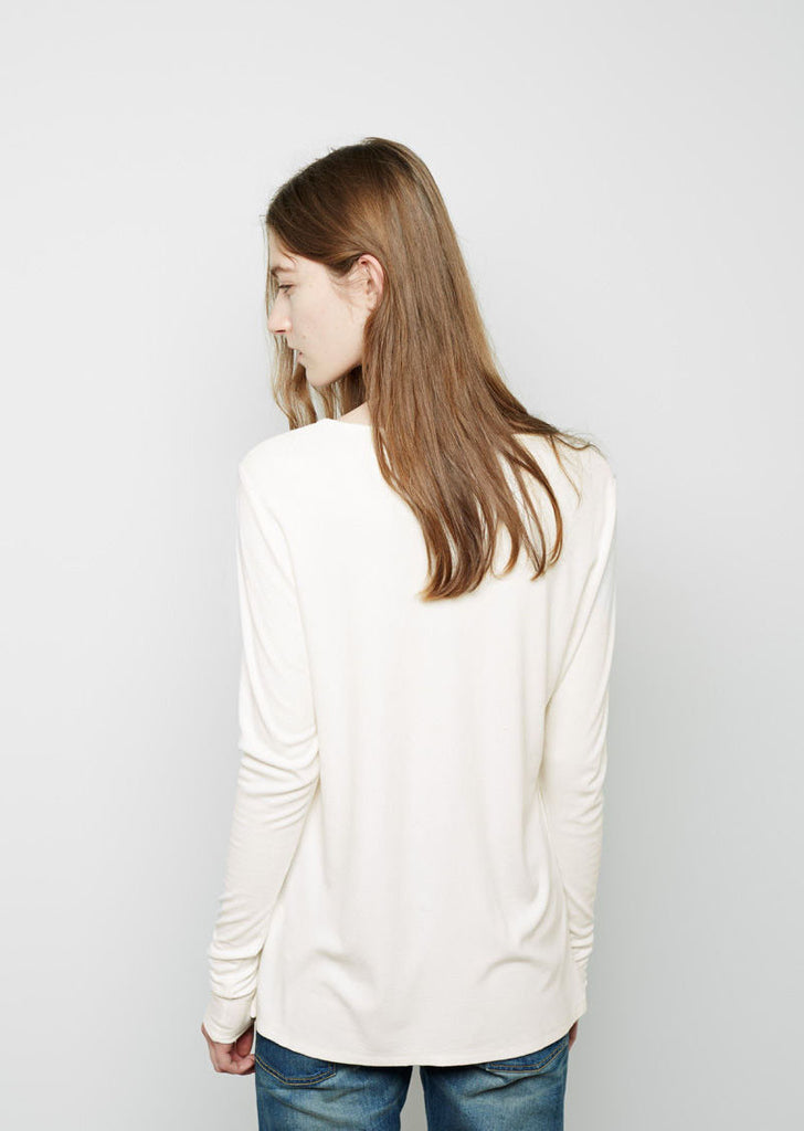 The New Longsleeve Didion Rib Tee