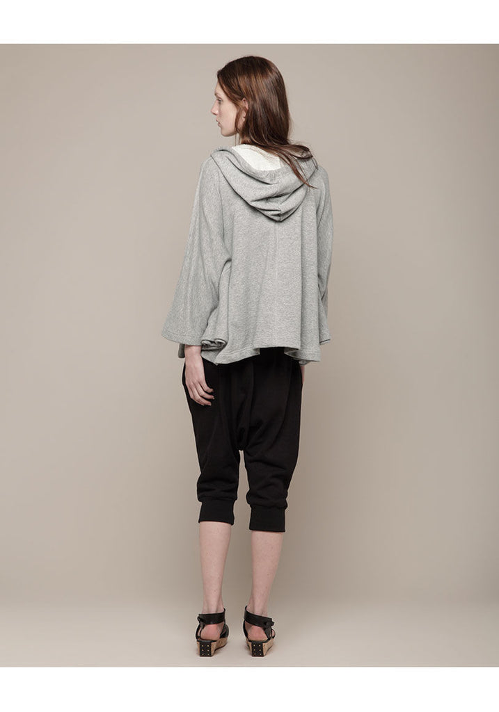 Hooded Zip Cape