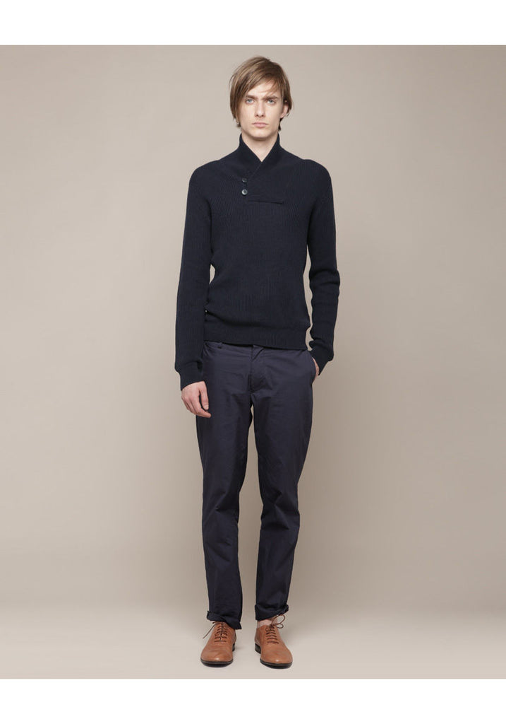 Rolled Collar Pullover