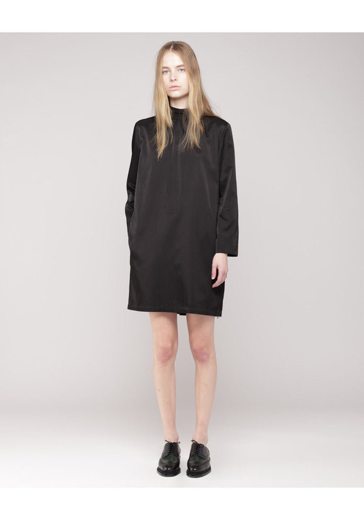 Contrast Collar Dress