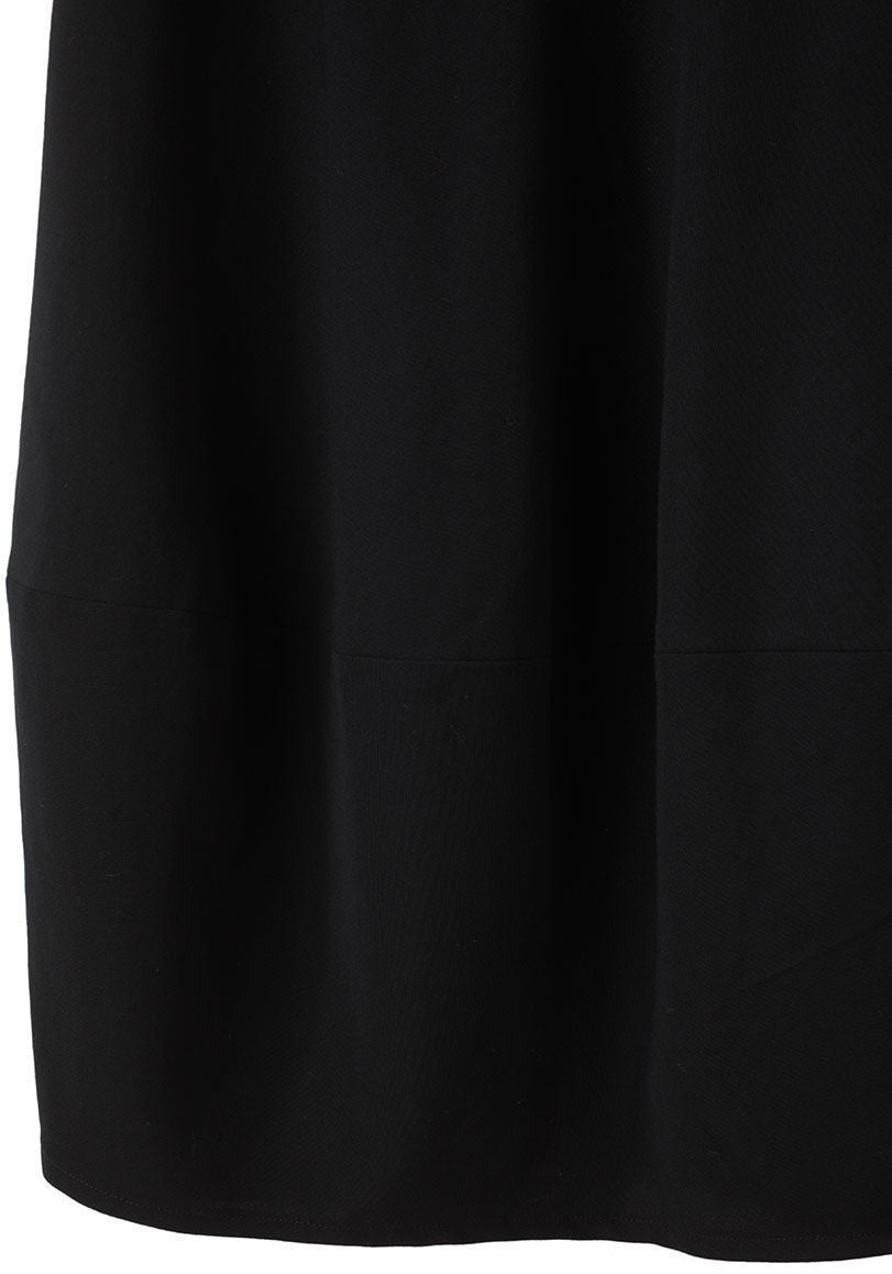 Gabardine Balloon Skirt
