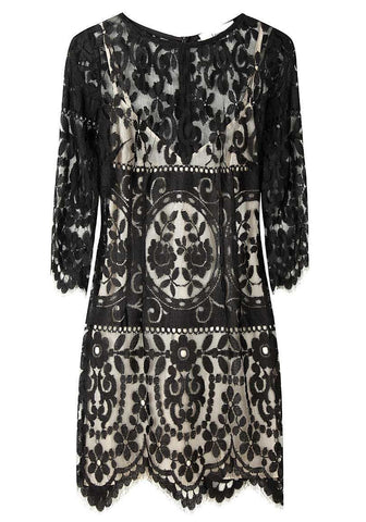 Tilly Lace Fitted Dress