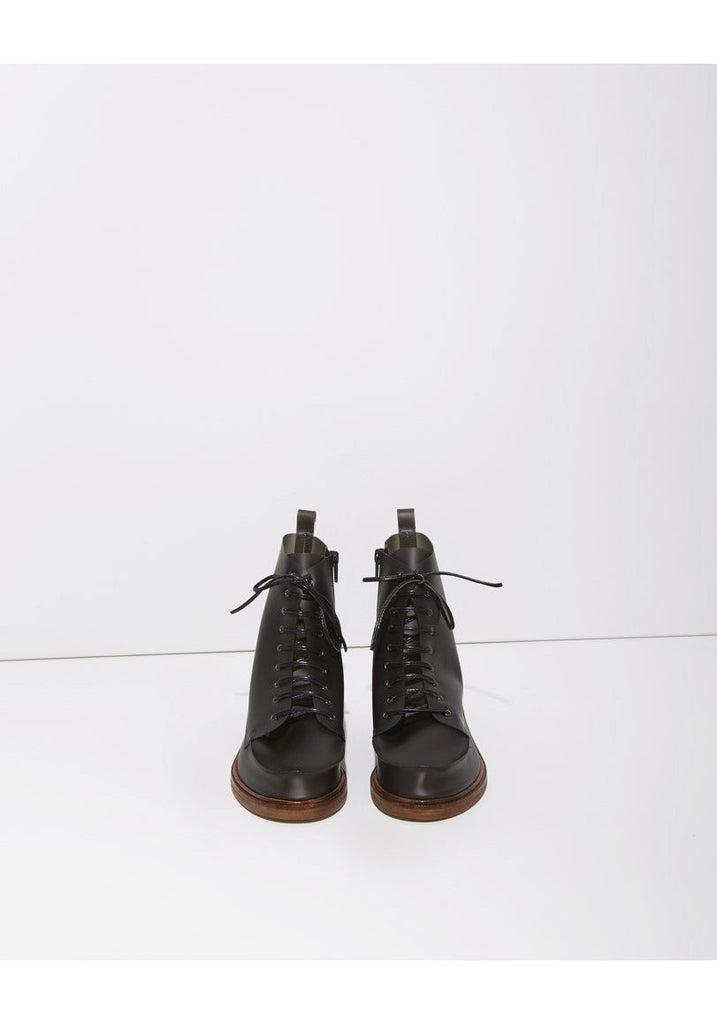 Lace-Up Rain Boot