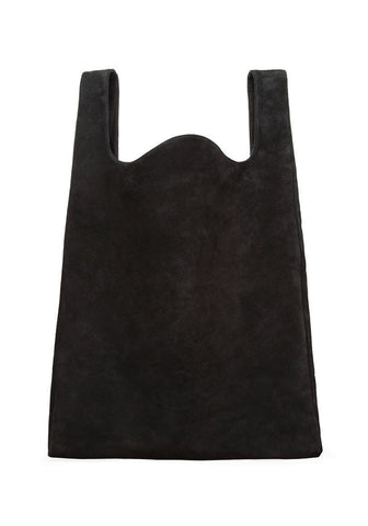 Suede Shopping-Bag