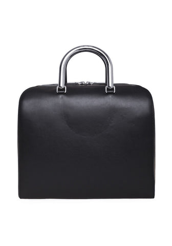 Metal-Handle Tote