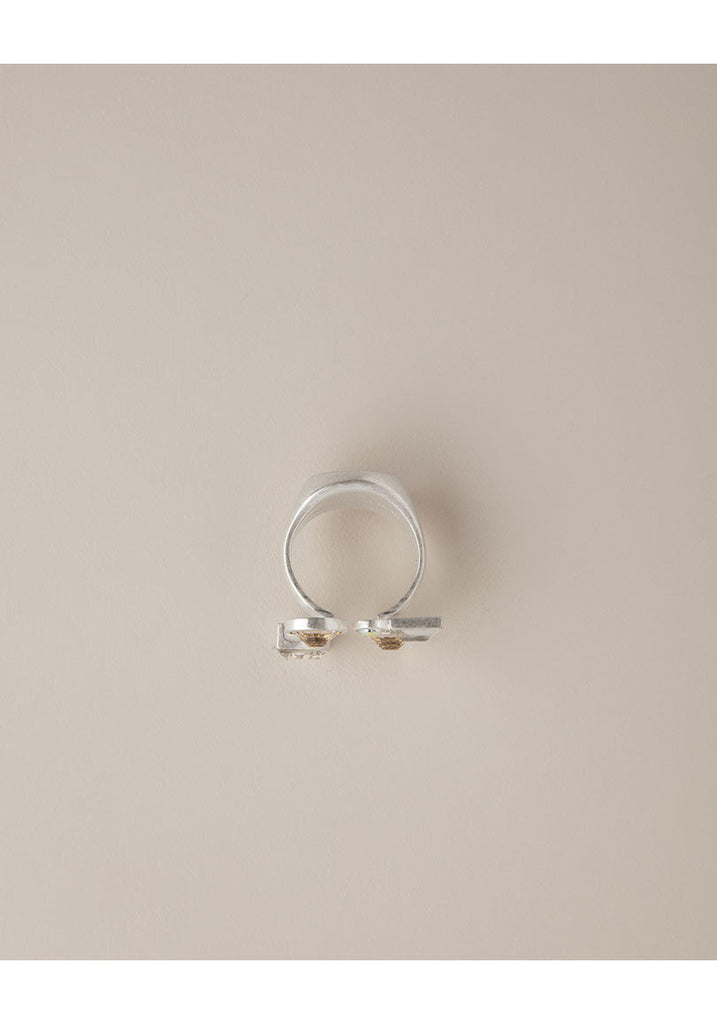 Ring With Glass