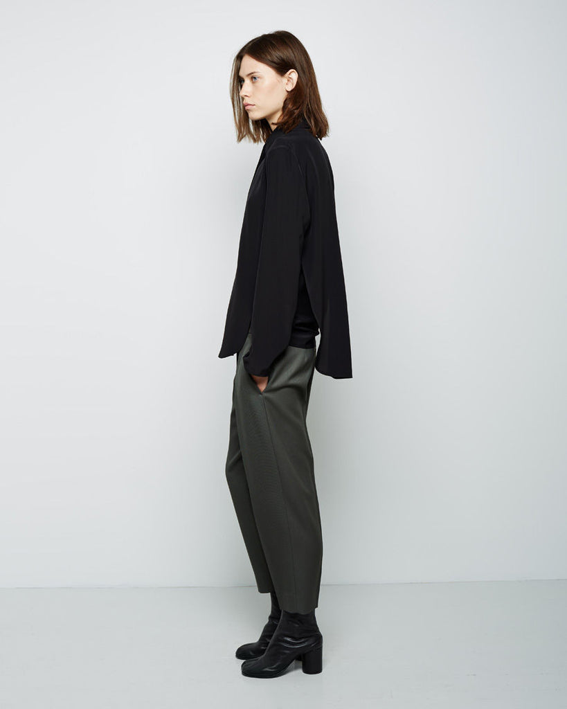 Cropped Tapered Trouser
