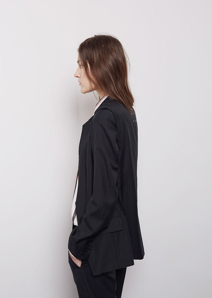 Maison Margiela Line 1 Unfinished Two-Piece Blazer La Garconne