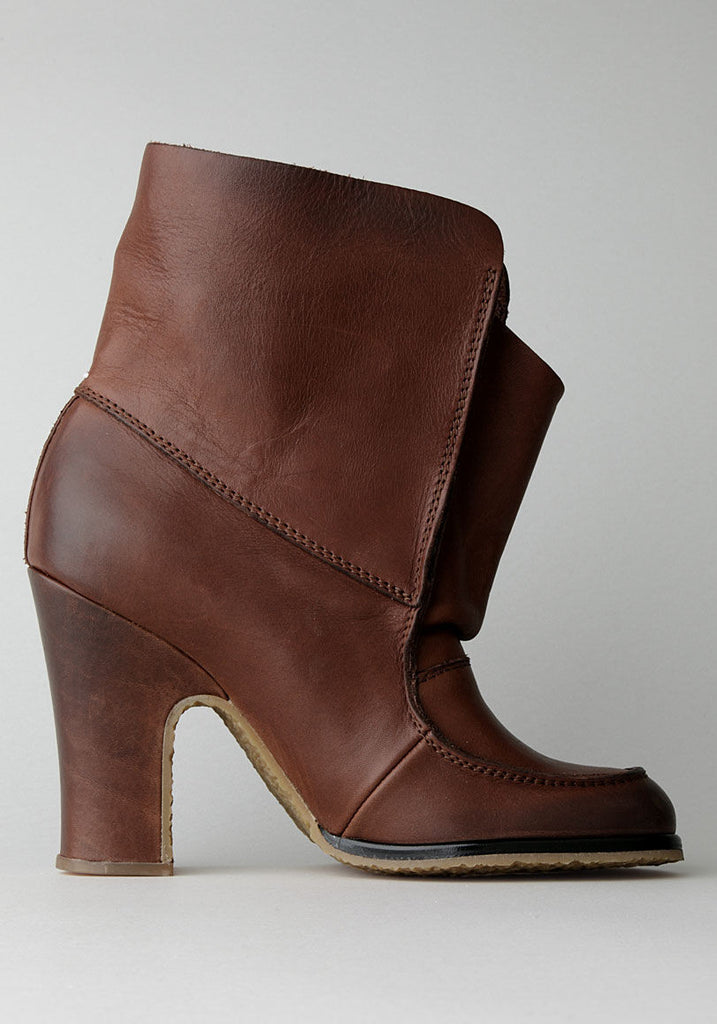 Flap Ankle Boot