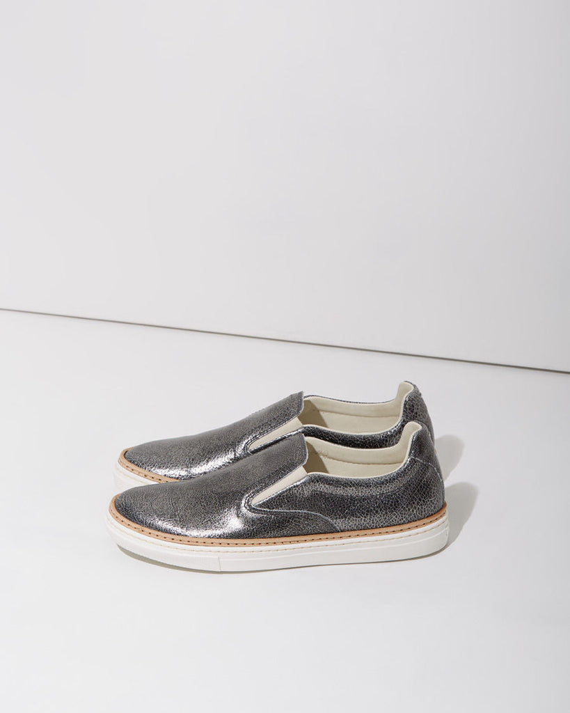 Metallic Slip-on Sneaker