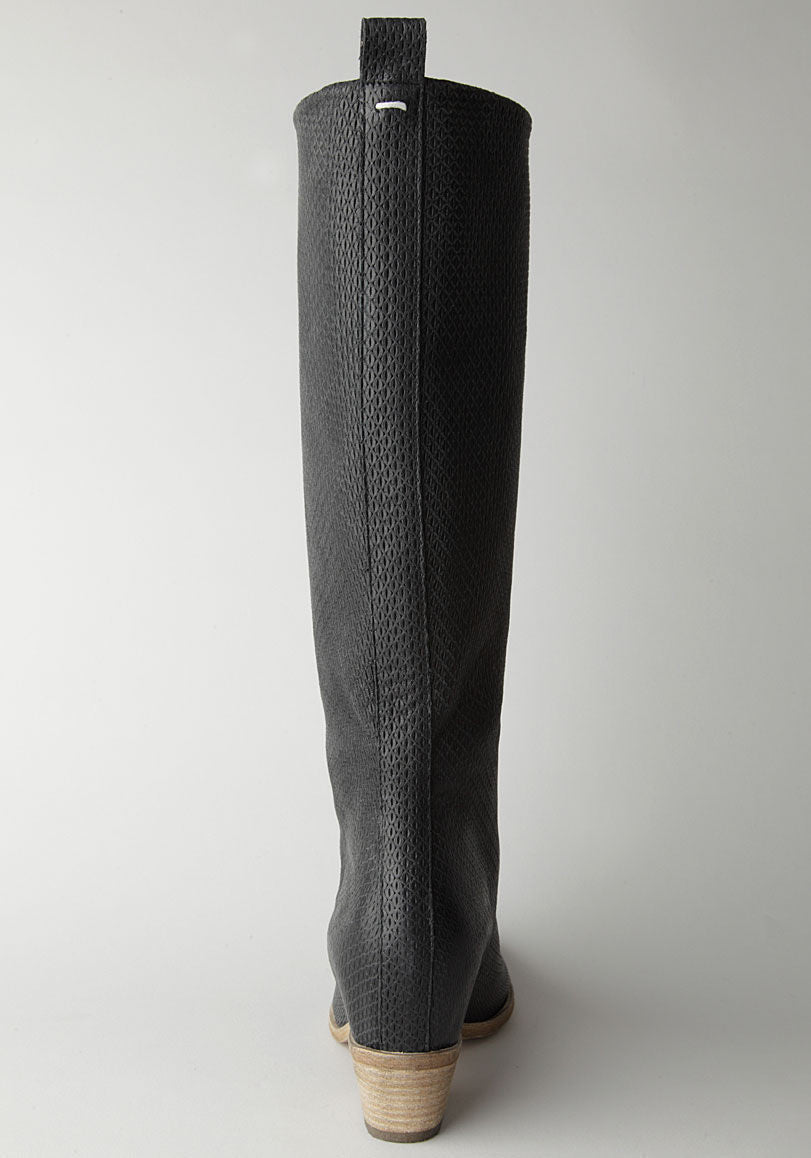 Textured Boot