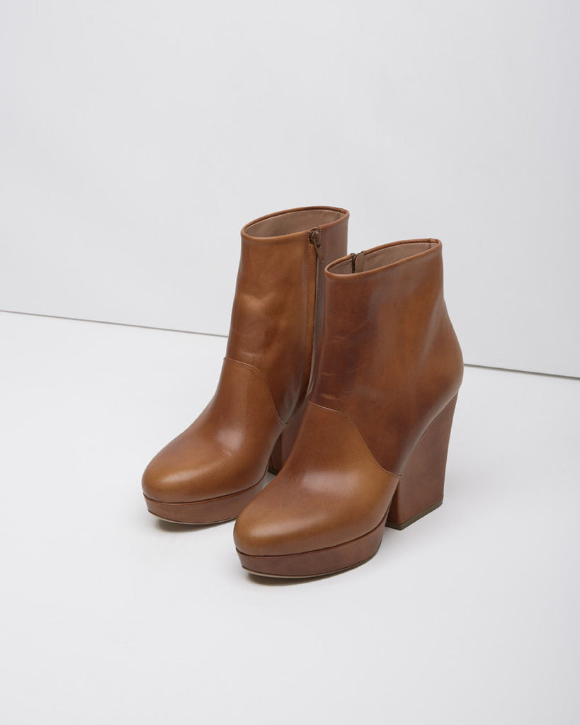 Wedge Heel Boot