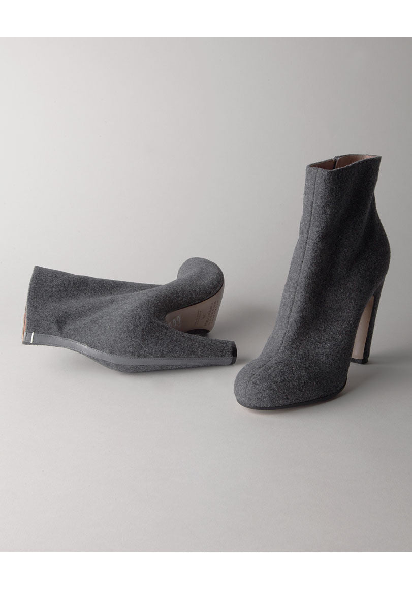 Wool Ankle Boot